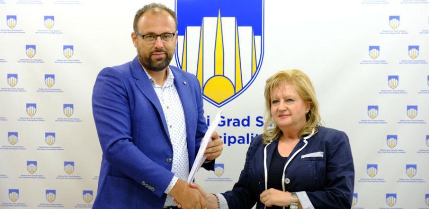 Potpisan ugovor za izgradnju biciklističke staze u naselju Dobrinja