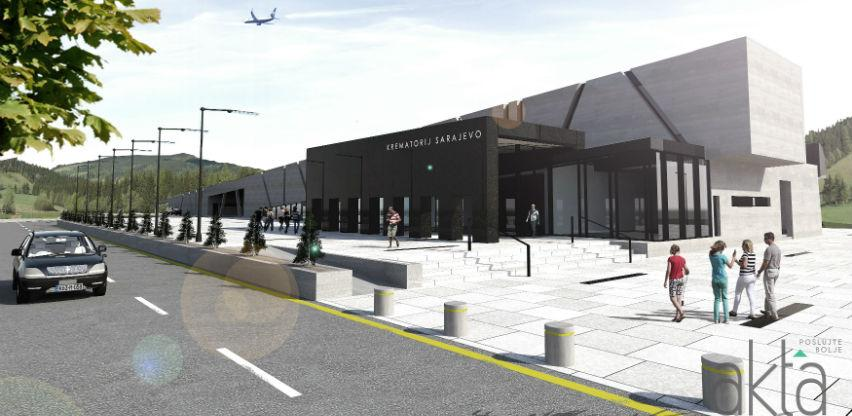 Projekt od 2,5 mil. KM: Pogledajte izgled budućeg krematorija na Vlakovu