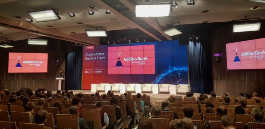 Predstavnici Addiko banke na Oracle Modern Business forumu u Moskvi