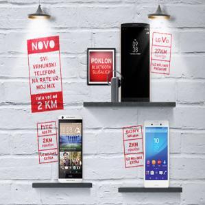 Ukoliko želite novi telefon, više ne morate razmišljati o velikim troškovima i praviti velike finansijske planove.