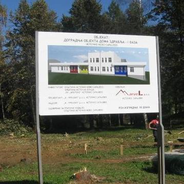 Direktor Doma zdravlja Istočno Sarajevo Dragan Krstović očekuje da će u februaru naredne godine biti završena gradnja dodatnog objekta ove zdravstvene ustanove, čija se vrijednost procjenjuje na 1,2 miliona KM.