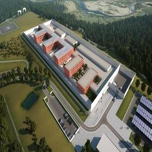Izgradnja državnog zatvora finansirana je kreditom Razvojne banke Vijeća Europe u iznosu od 19,3 milijuna eura.