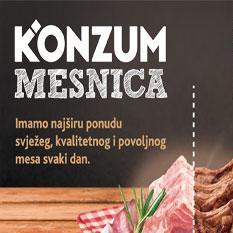 Više od 110 Konzumovih prodavnica širom BiH svakodnevno nudi meso vrhunskog kvaliteta, strogo kontrolirano i provjereno...