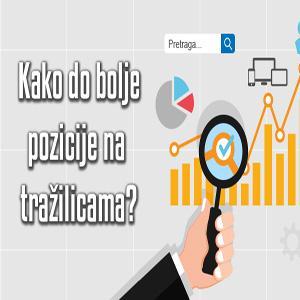Ukoliko imate svoju web stranicu ili blog sigurno želite da vas što više ljudi može pronaći, tj. da budete dobro rangirani na pretraživačima.