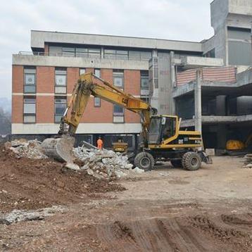 "Do sada je završen prvi i drugi sprat. Obnova Doma zdravlja ""Kumrovac"" bit će završena do 20. avgusta."
