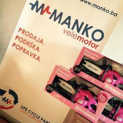 """Projekat """"Nijedno dijete bez paketića"""" koji je organizovalo udruženje Ruku na srce, podržala je kompanija Manko Velemotor iz Sarajeva."""