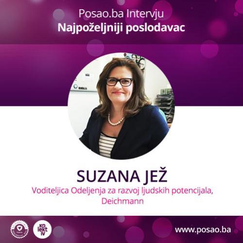 Suzana Jež: Deichmann do kraja 2016. zapošljava još15 radnika