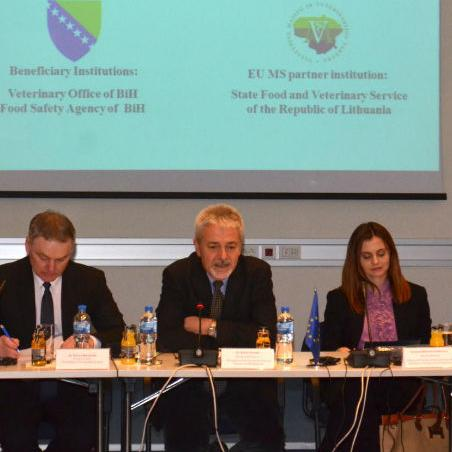 The project has been financed by the European Union, and the Charge d'Affaires of the EU Delegation to BiH, Renzo Daviddi said on Friday that BiH has the potential for export, from biologically produced food to various products from forests, which are competitive in a number of countries including the EU.