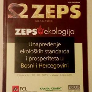 Poslovni sistem RMK je u okviru svojih ekoloških aktivnosti objavio knjigu sa okruglog stola sajma ZEPS.