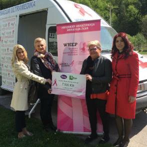 Kupovinom Violetinih proizvoda u Bingo centrima kupci su mogli pomoći ženama oboljelima od raka dojke. Ovom humanitarnom akcijom prikupljena su sredstva za mamografske preglede u ruralnim sredinama.