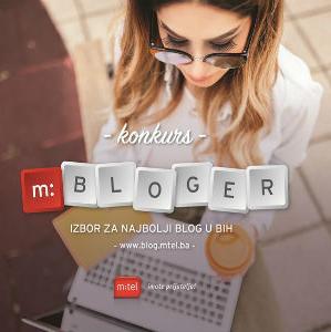 """Kompanija m:tel ovim konkursom želi da promoviše modernu kulturu pisanja, kao i popularni fenomen interaktivnog """"vođenja dnevnika"""", odnosno blogovanja."""