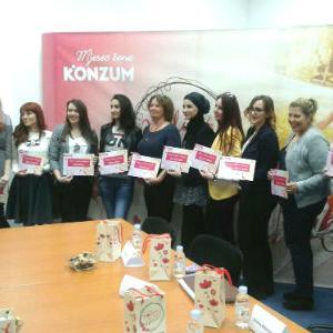 Konzum BiH će uskoro predstaviti i dobitnice bespovratnih sredstava, kao i projekte za koje su dobili novčanu podršku.