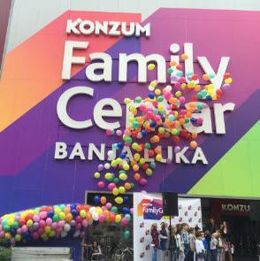 Danas je svečano otvoren Konzum Family Centar Banjaluka, na adresi Aleja Svetog Save 69. Nakon Sarajeva, i građani Banja Luke dobili su mjesto najbolje kupovine, druženja i zabave za cijelu porodicu.