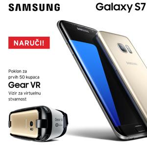Za manje od jednog dana nakon svjetske premijere novi Samsung Galaxy S7 i Galaxy S7 edge možete da naručite putem m:tel facebook stranice