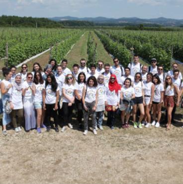 Cilj ovog događaja je da se studenti iz cijelog svijeta upoznaju ne samo sa običajim i kulturom BiH, nego i sa privrednom granom naše zemlje.