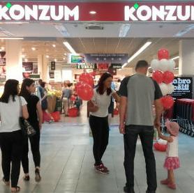 Reootvorenje Konzumove prodavnice u Grand centru na Ilidži upriličeno je danas, a u narednom periodu planirano je još nekoliko reotvorenja prodavnica širom BiH, koja će kupcima omogućiti veći izbor, najbolji omjer kvalitete i cijena, te pregledniju i ugodniju kupovinu