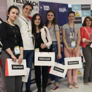 """Učenici iz 20 bh. gradova takmičili su se u osmišljavanju i izradi poslovnog plana na temu """"50 godina multikulturalnosti u BiH""""."""