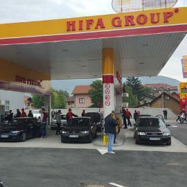 Hifa-Petrol, članica HIFA grupacije jučer je u funkciju pustila drugu benzinsku pumpu u Zenici, u naselju Nova Zenica.