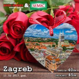 U saradnji sa agencijom Biss Tours, IM Semić iz Visokog poklanja tri poklon paketa proizvoda  i putovanje u Zagreb za dvije osobe.