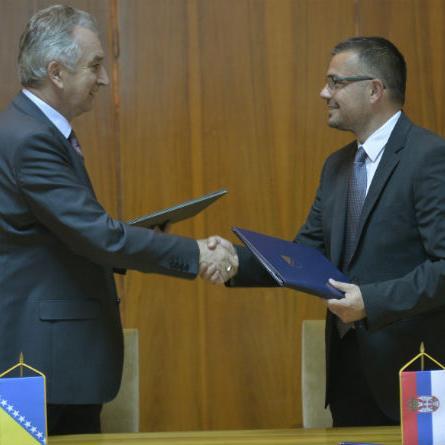 Ovih dana biće usaglašeno i pitanje uvoza u Bosnu i Hercegovinu žive stoke iz Srbije.