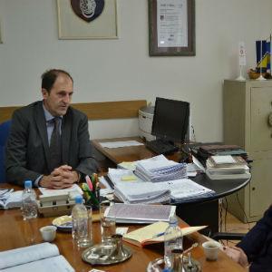 Predstavnici Svjetske banke upoznali su ministra Nenadića o preduzetim aktivnostima na izradi projekta analize poslovnog okruženja u FBiH.