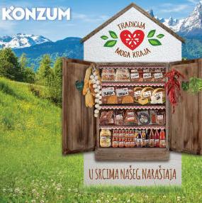 U Konzumovim prodavnicama pronaći ćete domaće proizvode napravljene ručno i s puno pažnje i ljubavi.
