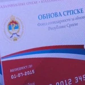 Uredbom o prioritetnoj pomoći za sanaciju štete na stambenim objektima izazvanoj poplavama u Republici Srpskoj propisano je da elektronske platne kartice važe do danas, a nakon toga neće moći da se koriste.