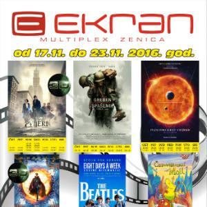 U filmskoj sedmici od 17. novembra ne propustite pogledati nove filmove.