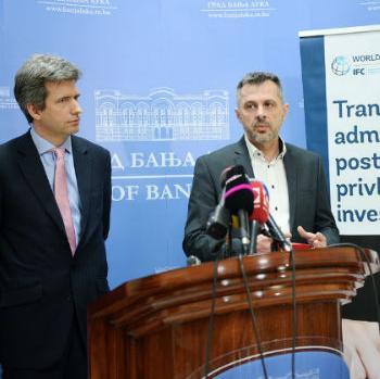 Grad Banja Luka i Grupacija Svjetske banke zajednički rade na regulatornoj reformi administrativnih procedura.