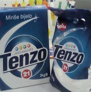 Mjesec je dana prošlo od kako se deterdžent za pranje veša Arix Tenzo našao na policama trgovačkog lanca Bingo. Do sada je proizvedeno 200 tona Tenza, a posljednjih 60 tona distribuirano je u ostale trgovačke lance širom BiH