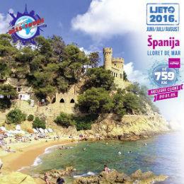 Kosta Brava je jedna od najfascinantnijih i najpopularnijih turističkih regija Španije i upravo tu su smještene najljepše pješčane plaže. Najznačajnije i najpopularnije ljetovalište regije je Ljoret de Mar, mesto sa 30.000 stanovnika.