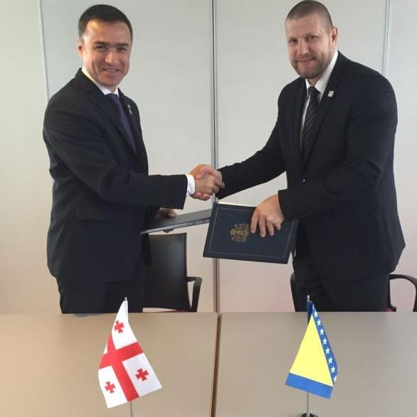 Potpisan Sporazum o cestovnom prijevozu između BiH i Gruzije