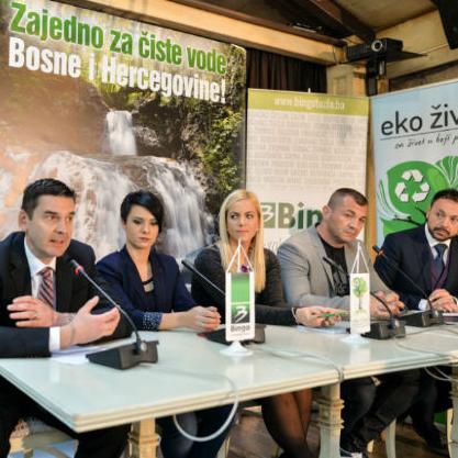 U projekat se mogu uključiti i svi posjetioci trgovačkog lanca Bingo koji od početka novembra kupovinom Persil, Silan i Somat proizvoda pomažu akcijama čišćenja voda Bosne i Hercegovine.