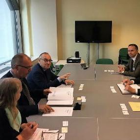 Klokić se sastao sa predstavnicima Direktorata za razvoj privrede EK i Evropske agencije za razvoj malih i srednjih preduzeća.
