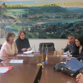 remijer BPK Goražde Emir Oković obećao je podršku Vlade kako bi se ovaj projekat u potpunosti implementirao na području našeg kantona te omogućio ljekarima i pacijentima brži , efikasniji i racionalniji zdravstveni sistem.