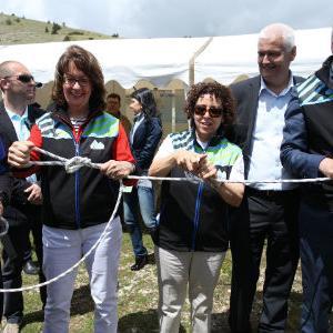 """U Parku prirode Blidinje jučerje otvorena """"Bijela staza"""" u okviru projekta """"Via Dinarica"""" čime je napravljen veliki korak ka daljem razvoju platforme za održivi razvoj turizma."""