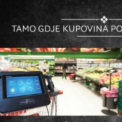 Pametna kolica uskoro stižu u prodajne centre Konzuma BiH u Sarajevu i Banjoj Luci, a kupcima će omogućiti moderniji, brži i ekonomičniji način kupovine.