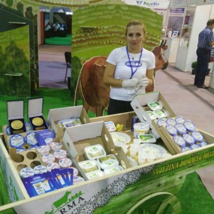 Milkosu zlatna medalja za Ayran i Royal bijeli meki sir
