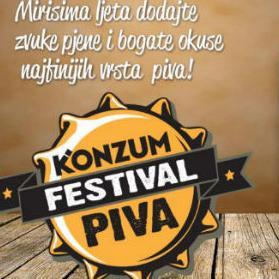 Festival će obilježiti najbolji pivski brendovi, promotivne cijene, degustacije i velika nagradna igra.