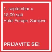 Hajrudin Ahmetlić (HIFA group) i inovatori platforme edu720 govornici septembarskog Business Cafe-a.