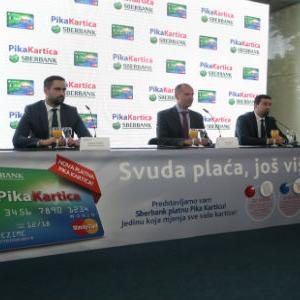 Sberbank platna Pika Kartica je istovremeno revolving kartica, kartica za kupovanje na rate i kartica lojalnosti.