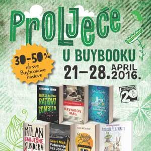 Iako izdavačko-knjižarska kuća Buybook ove godine ne izlazi na 28. Sarajevski sajam knjiga, njihovi čitaoci i ljubitelji knjige neće ostati razočarani ovom odlukom.