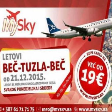 U razgovoru za web portal RTV Tuzlanskog kantona, direktor Međunarodnog aerodroma Tuzla Rifet Karasalihpvić kazao je da nema nikakvih promjena, da prvi let ide kako je to i rečeno 21. ovog mjeseca.