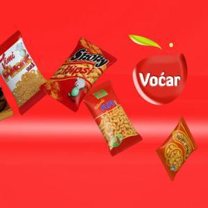 Voćar d.o.o. Brčko postoji od 1989. godine kao poduzeće za proizvodnju prehrambenih proizvoda - snack food.