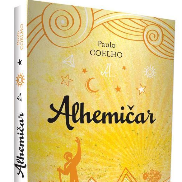 Ova priča, sjajna u svojoj jednostavnosti i snažno nadahnuta mudrošću, govori o andaluzijskom pastiru, dječaku Santiagu, koji putuje iz svoje domovine u Španiji prema egipatskoj pustinji u potrazi za blagom skrivenim u piramidama.
