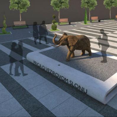 Priča o vezirovom slonu: Travnik dobija trg s motivima književne tradicije