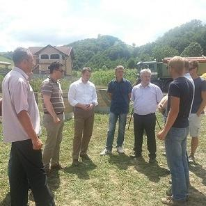 The pilot project of building the main collector and biological wastewater treatment plant in the settlement of Ljubijankići has been successfully implemented in the municipality of Cazin. The investment is worth 1,150,000 KM.