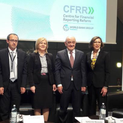 Konferencija, koja je okupila oko 250 izaslanika na visokoj razini, bila je posvećena ulozi financijskog izvješćivanja u ekonomskom razvoju istočne, središnje i jugoistočne Europe.