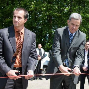 """Vrijednost investicije je 250 tisuća eura. Solarna elektrana """"Praha"""" d.o.o. Žepče je s radom otpočela 1. travnja ove godine."""