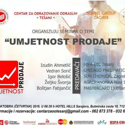 Seminar je namijenjen prodavačima, direktorima prodaje, top menadžmentu, vlasnicima kompanija.